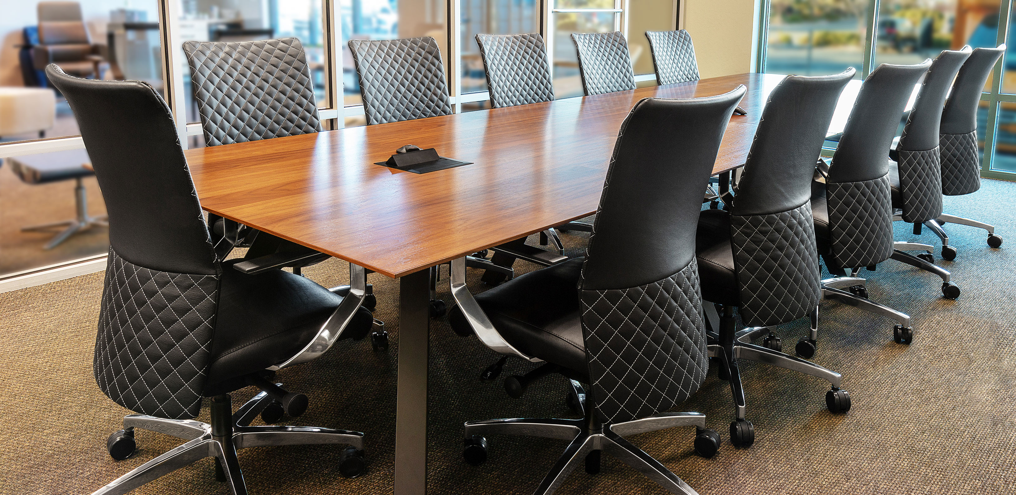 conference chairs - Via Seating