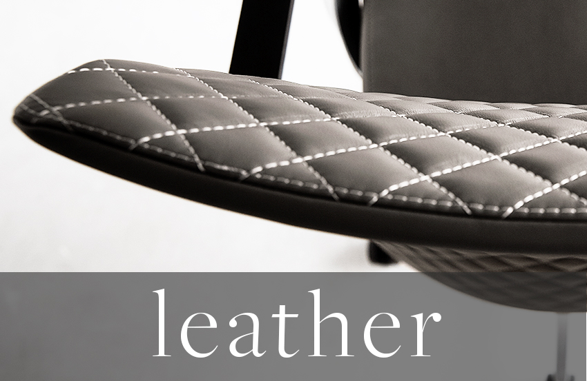 leather library